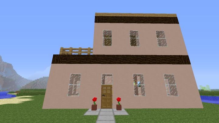 Case Piccole Con Giardino : Villa italiana moderna con giardino decorato forum minecraft